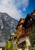 Beautiful  Alpine houses in Austria Stock Images