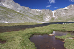 Beautiful Alpine Lake Stock Image