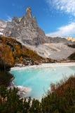 Idyllic alpine lake Stock Image