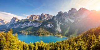 Beautiful alpine lake Royalty Free Stock Photos