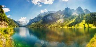 Beautiful alpine lake Royalty Free Stock Images