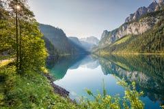 Beautiful alpine lake Royalty Free Stock Photo
