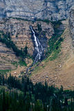 Beautiful Alpine Wilderness Waterfall Royalty Free Stock Photography