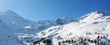 Beautiful Alps Royalty Free Stock Photos