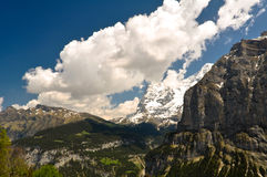 Beautiful Alps Landscape Royalty Free Stock Photo