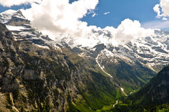 Beautiful Alps Landscape Royalty Free Stock Image