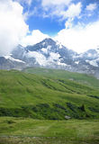 Beautiful alps peak near Kleine Scheidegg Stock Image