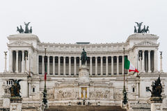 Beautiful Altar Of The Fatherland (Altare della Patria, known as royalty free stock images