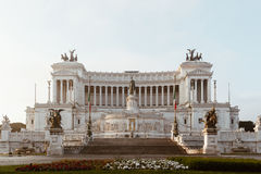 Beautiful Altar Of The Fatherland (Altare della Patria, known as royalty free stock photography