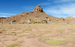 Beautiful altiplano valley Stock Images