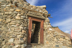 The beautiful altit fort at hunza GB Royalty Free Stock Image