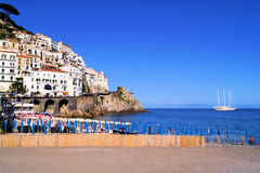 Beautiful Amalfi Coast Royalty Free Stock Photos