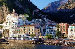 Beautiful Amalfi Stock Photography