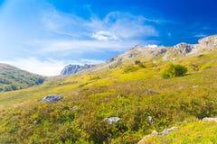Mountain day autumn royalty free stock images