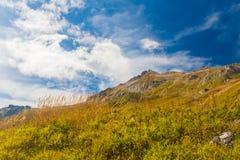 Mountain day autumn royalty free stock photo