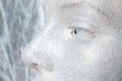 Beautiful, amazing portrait of woman Stock Photography