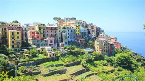 Beautiful amazing village in the Cinque Terre reserve. Liguria region of Italy. One of five land the village of