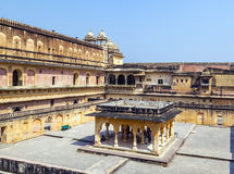 Beautiful Amber Fort near Jaipur city in India Royalty Free Stock Photography