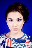 Beautiful American Woman. Royalty Free Stock Photos