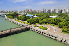 The beautiful amoy wuyuan bay park Royalty Free Stock Photos
