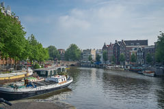 The beautiful Amsterdam in june. Stock Image