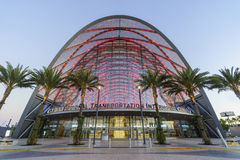 The beautiful Anaheim Regional Intermodal Transit Center Stock Images