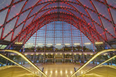 The beautiful Anaheim Regional Intermodal Transit Center Royalty Free Stock Photos