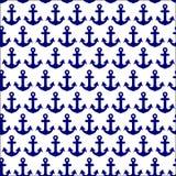 Beautiful anchor seamless Stock Photo