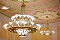 Beautiful ancient chandelier Stock Photography