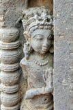 Ancient Hindu Sculpture Decoration at Chand Baori Stepwell at Abhaneri Village in Rajastan, India