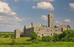 Beautiful ancient irish celtic castle landscape Stock Photos