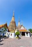 The beautiful ancient mosaic pagoda Royalty Free Stock Image
