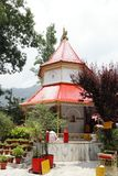 Beautiful ancient Naina Devi temple in Nainital Stock Image