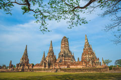 Old temple in thailand Stock Image