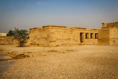Beautiful ancient Temple of Medina-Habu. Egypt, Luxor stock photos