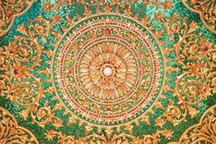 Beautiful ancient thai style pattern Stock Photo