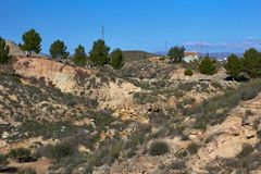 Beautiful. Andalusia mountains, Spain stock images