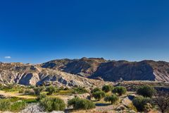 Beautiful. Andalusia mountains, Spain royalty free stock photo