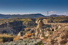 Beautiful. Andalusia mountains, Spain royalty free stock photos