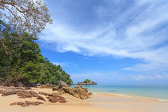Beautiful Andaman Sea and Blue Sky Royalty Free Stock Photography