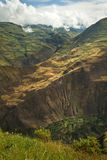 Beautiful andean city of Cañar in Azogues Ecuador Stock Images