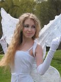 Beautiful angel Royalty Free Stock Photo