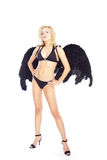 Beautiful angel Stock Image
