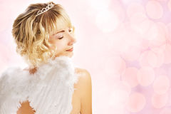 Beautiful angel Stock Images