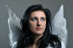 Beautiful angel Royalty Free Stock Image