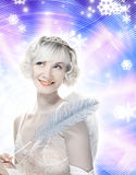 Beautiful Angel girl Royalty Free Stock Photos