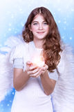 Beautiful angel Stock Photo