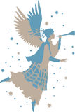 Beautiful Angel Silhouette Royalty Free Stock Image