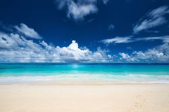 Beautiful Anse Intendance beach at Seychelles Royalty Free Stock Image