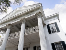Beautiful Antebellum House in Natchez Mississippi in the USA Stock Photo